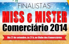 Final do Miss e Mister Comerciários 2014