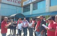 Demitidos do Tatico protestam em Samambaia contra calote da empresa
