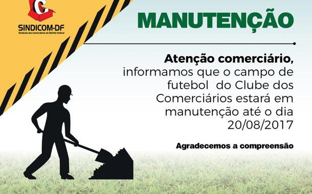 Manutenção Campo de futebol!