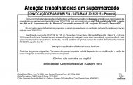 Assembleia data-base 2018/2019 Supermercados Paranoá