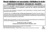 ASSEMBLEIA DATA-BASE CONCESSIONÁRIAS E DISTRIBUIDORAS DE VEÍCULOS – ASA NORTE