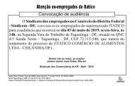 Convocação Audiência – ITATICO
