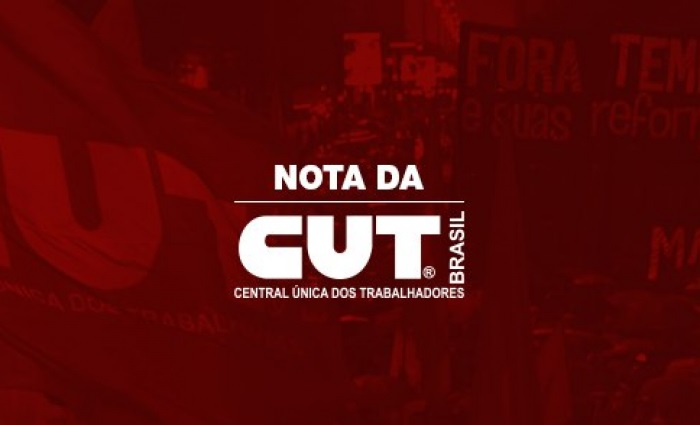 CUT convoca os trabalhadores para os atos do dia 30 de maio rumo à greve geral
