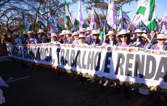 Marcha das Margaridas reforça a luta por direitos das trabalhadoras!