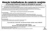 Trabalhadores no comércio varejista, sua Convenção Coletiva de Trabalho foi assinada!