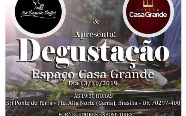 Noivas de Brasília e entorno, tem degustação no Espaço Casa Grande!