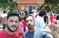 Sindicato dos Comerciários do DF reforça a militância na embaixada da Venezuela
