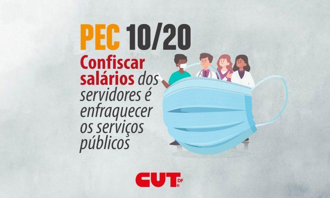 """""""Confiscar salários dos servidores é enfraquecer os serviços públicos"""""""