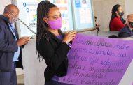 Ato dialoga com população do DF sobre cultura do estupro e os direitos das mulheres