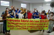 Campanha Salarial data base 2020/2021 dos trabalhadores em Supermercados do Paranoá e região