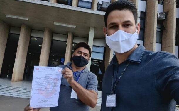 Sindicom protocola pedido de imunização no Palácio do Buriti