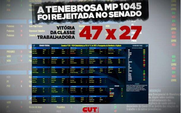 Em derrota para Bolsonaro, Senado vota contra reforma Trabalhista