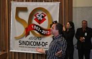 Sessão solene em homenagem aos 50 anos do SINDICOM-DF